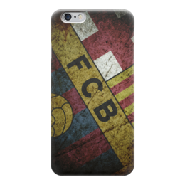 "Чехол для iPhone 6 ""Барселона (Барса)"" - футбол, football, fc barcelona"