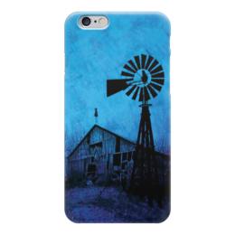 "Чехол для iPhone 6 ""Мельница"" - апокалипсис, ночь, мельница, mill"