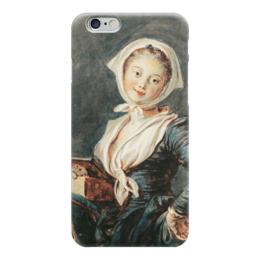 "Чехол для iPhone 6 ""Девушка с сурком"" - картина, фрагонар"