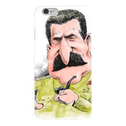 """Чехол для iPhone 6 """"Сталин"""" - ссср, ussr, вождь, сталин, stalin"""
