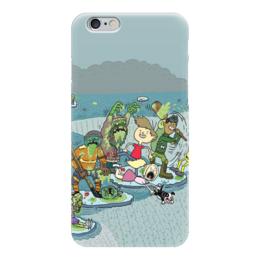 """Чехол для iPhone 6 глянцевый """"Зомби"""" - зомби, фэнтези, zombie"""