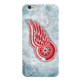 "Чехол для iPhone 6 ""Detroit Red Wings"" - хоккей, nhl, нхл, детройт ред уингз, red wings"