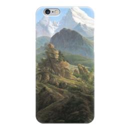 """Чехол для iPhone 6 """"Вацманн"""" - картина, фридрих"""