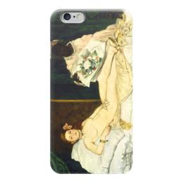 "Чехол для iPhone 6 ""Олимпия (картина Мане)"" - картина, мане"
