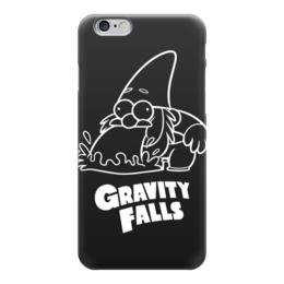 """Чехол для iPhone 6 """"Гном Стив"""" - gravity falls, гном, стив, гравити фолз"""