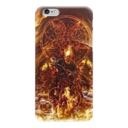 """Чехол для iPhone 6 """"Призрачный гонщик"""" - комиксы, марвел, призрачный гонщик, ghost rider"""