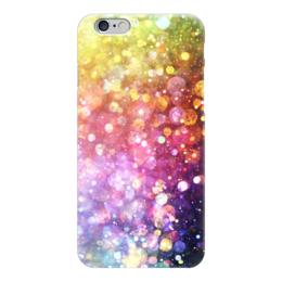 "Чехол для iPhone 6 ""Abstraction"" - цвет, color, огни, фон, lights"