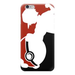 """Чехол для iPhone 6 """"Покемон"""" - pokemon, покемон, эш, покебол, pokemon go"""