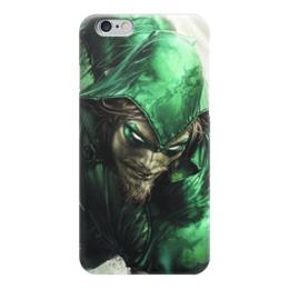 """Чехол для iPhone 6 """"Зелёная стрела"""" - green arrow, зелёная стрела"""
