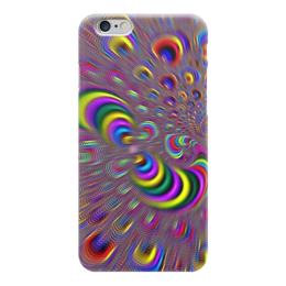 """Чехол для iPhone 6 """"Абстракция """" - 3d"""