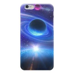 """Чехол для iPhone 6 глянцевый """"Космос"""" - космос, наука, прогресс, денис гесс, the spaceway"""