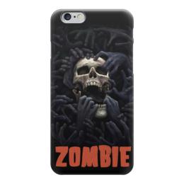 """Чехол для iPhone 6 """"Zombie Art"""" - skull, череп, zombie, зомби, зло"""