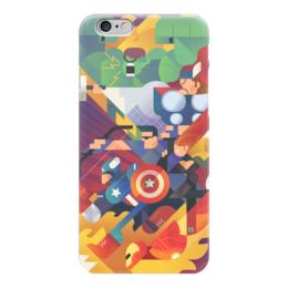 "Чехол для iPhone 6 ""Мои СуперГерои "" - супергерои, мстители, avengers, superheroes"