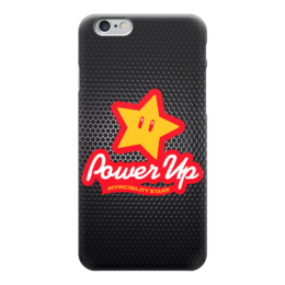 "Чехол для iPhone 6 ""Звезда из Марио (Power Up)"" - stars, nintendo, марио, mario bros, power up"