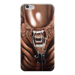 """Чехол для iPhone 6 """"Чужой"""" - хищник, alien, чужой, predator, алиен"""
