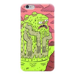 "Чехол для iPhone 6 глянцевый ""Монстр Федр"" - монстр, monster, инопланетянин, чудовище, nickelodeon"