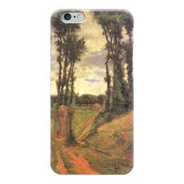 "Чехол для iPhone 6 ""Тополя, Осни"" - картина, поль гоген"