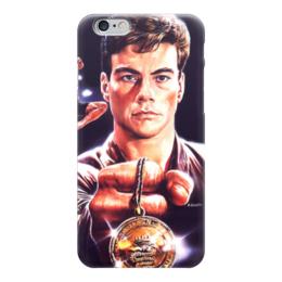 "Чехол для iPhone 6 ""Кровавый спорт (Bloodsport)"" - bloodsport, кровавый спорт, жан-клод ван дамм"