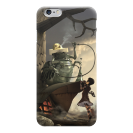 """Чехол для iPhone 6 """"Алиса в стране чудес / Cтимпанк """" - фэнтези, steampunk, стимпанк, алиса в стране чудес"""