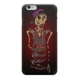 "Чехол для iPhone 6 ""Skeleton Art"" - skull, череп, skeleton, скелет, арт дизайн"