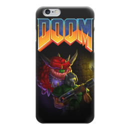 "Чехол для iPhone 6 ""Doom game"" - игра, game, компьютерные игры, doom, дум"