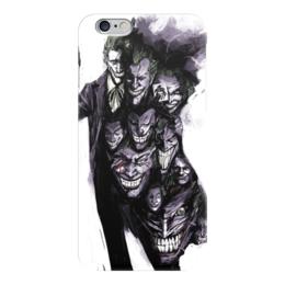 """Чехол для iPhone 6 глянцевый """"Джокер"""" - джокер, комиксы, dc comics, batman, joker"""