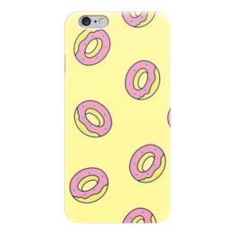 """Чехол для iPhone 6 """"Пончик """" - пончик, donuts, doughnuts"""
