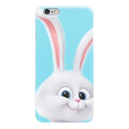 """Чехол для iPhone 6 """"Снежок"""" - снежок, тайная жизнь домашних животных, the secret life of pets, snowball"""