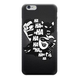 "Чехол для iPhone 6 ""Джокер и Харли Квинн (Бэтмен)"" - джокер, бэтмен, харли квинн, hahaha"