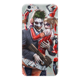 """Чехол для iPhone 6 """"Харли Квин"""" - комиксы, бэтмен, dc комиксы, харли квин"""