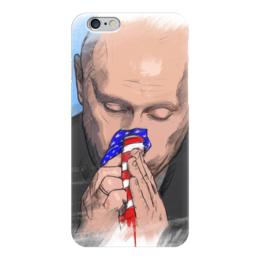 "Чехол для iPhone 6 ""путин"" - арт, россия, путин"