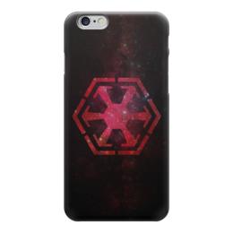 """Чехол для iPhone 6 """"Империя Ситхов (Звездные Войны)"""" - star wars, sith, звёздные войны, the sith empire, империя ситхов"""