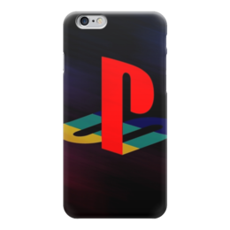 "Чехол для iPhone 6 ""Playstation"" - игры, playstation"