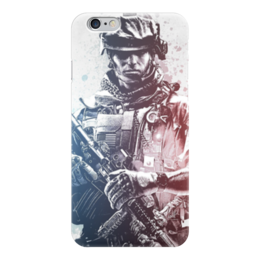 "Чехол для iPhone 6 ""Солдат (Battlefield)"" - battlefield, bf, батла"