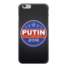 "Чехол для iPhone 6 глянцевый ""Путина в президенты Америки (2016)"" - putin, president, 2016, путин"