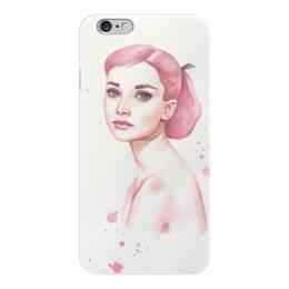 "Чехол для iPhone 6 ""Одри Хепберн"" - audrey hepburn, одри хепберн, завтрак у тиффани, римские каникулы"