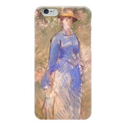 """Чехол для iPhone 6 """"Молодая девушка в саду"""" - картина, мане"""