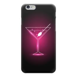 "Чехол для iPhone 6 ""Martini"" - розовый, martini, мартини, коктейль"