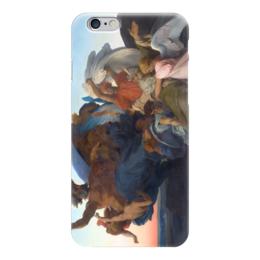 """Чехол для iPhone 6 глянцевый """"Смерть Моисея (The Death of Moses)"""" - картина, кабанель"""