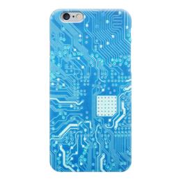 """Чехол для iPhone 6 """"Системная плата"""" - плата, система, системная плата"""