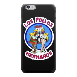"Чехол для iPhone 6 глянцевый ""Los Pollos Hermanos (Breaking Bad)"" - los pollos hermanos, братья цыплята, во все тяжкие, breaking bad"