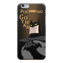 "Чехол для iPhone 6 ""БЭТМЕН В ЯРОСТИ!!!"" - арт, batman, бэтмен, dc, готэм"