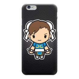 "Чехол для iPhone 6 ""Chun-li (Street Fighter)"" - файтинг, драка, уличный боец, street fighter, chun-li"