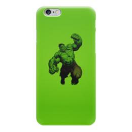 "Чехол для iPhone 6 ""Халк (Hulk)"" - комиксы, hulk, марвел, халк, брюс баннер"