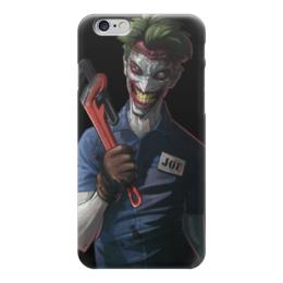 "Чехол для iPhone 6 ""Джокер"" - joker, batman, готэм"