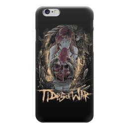 "Чехол для iPhone 6 глянцевый ""Tides Of War"" - skull, zombie, череп, зомби, арт"