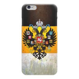 """Чехол для iPhone 6 """"Флаг Российской Империи"""" - россия, russia, империя, российская империя, флаг россии"""