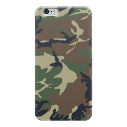 """Чехол для iPhone 6 глянцевый """"Камуфляж"""" - камуфляж, армия, army, военный, camo"""