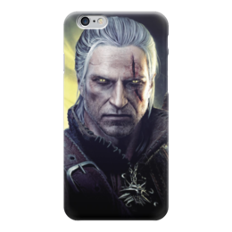 "Чехол для iPhone 6 глянцевый ""Ведьмак (The Witcher)"" - ведьмак, witcher, the witcher"