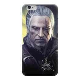 """Чехол для iPhone 6 """"Ведьмак (The Witcher)"""" - ведьмак, witcher, the witcher"""